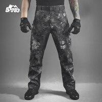 Hommes Militaire de Serpent Camouflage Tactique Pantalon 2016 Nouveau Mens Mandrake Typhon Grain Impression Pantalon En Plein Air Armée Chasse Vêtements