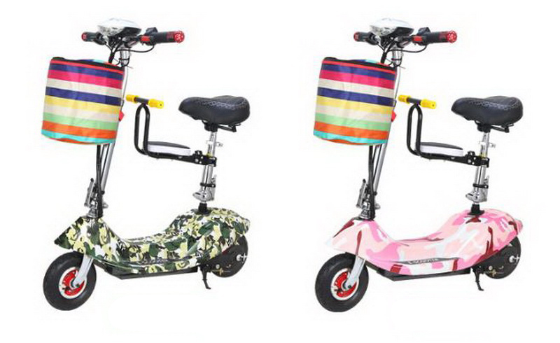 Top 261025/Ladies mini folding car bicycle scooter adult student portable two rounds/Scrub pedal 30-50km/h velo electrique 23