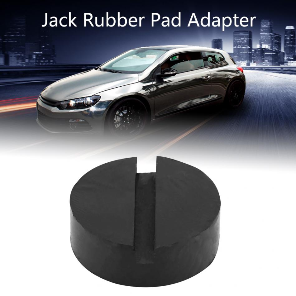 Car Jack Pad Adapter Universal Slotted Frame Rail Floor Jack Rubber Pads Jacking Rubber Pad Adapter Black Car Styling ...