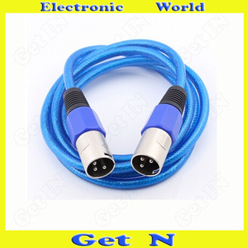 10pcs  1.5Meter Balanced Cannon Wire Cord Cable Audio Cable Lengthener for Microphone Professional Audio Stereo