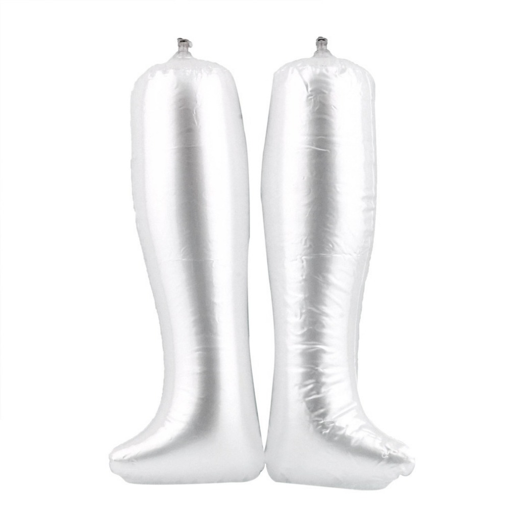 1 pair Inflatable Stretcher Support Shaper Long Boots Shoes Stand Holder Reusable Long Boot PVC Shoe Stand Holder Hot