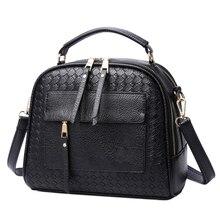 Tinkin New Arrival Knitting Women Handbag Fashion Weave Shoulder Bags Small Casual Female CrossBody Bag Retro Tote