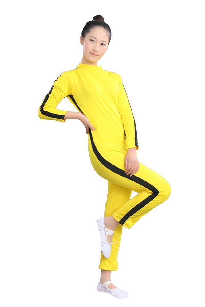Bruce Lee Yellow Jumpsuit Costume Kids