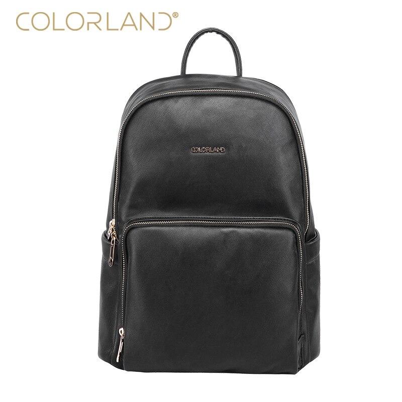 цена на PU Leather Material Mommy Backpack, Waterproof Dustproof Mom Shoulders Bag, Women Backpack with Diaper Gift