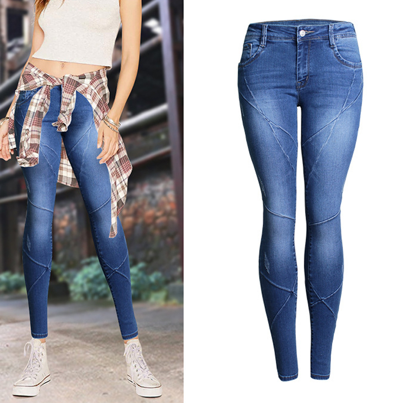 New Boyfrined Designer Sexy font b Women b font font b Jeans b font Slim Fit