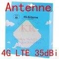 Huawei antena 35dbi 3g 4g lte antena externa 2 * sma crc9 ts9 conector sma para e5172 e5377 ts9 para e5776 3g 4g módem router