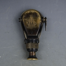 Free delivery of brass single tube Western Navigation telescope decorative ornament collection