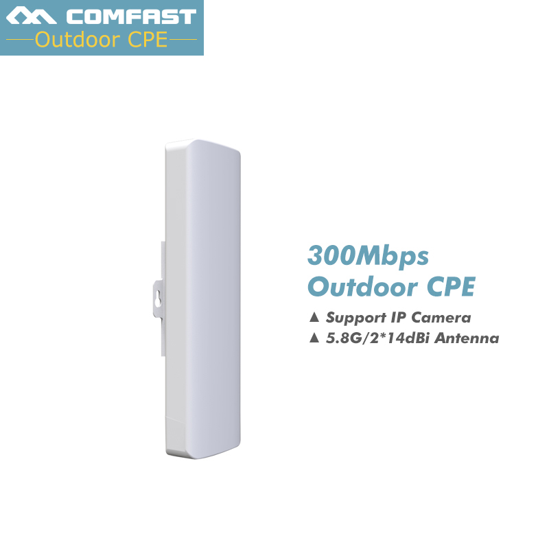 2PC, 300Mbps Outdoor CPE 5G wi-fi Ethernet Access Point Wifi Bridge Wireless AP Range Extender Routers POE WIFI Repeater Antenna