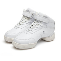 Free Shipping New Style White Breathable Modern Dancing Sneakers Woman Jazz Dancing Shoes Zapatilla De Deporte