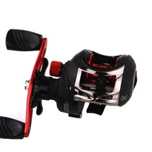 купить 10+1 BB Ball Bearing Bait Casting Fishing Reel GT 7.3:1 One-way Clutch Fishing Reel Left/Right Magnetic Brake System for Pesca дешево