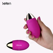 Leten top grade Wireless Remote Control Vibrator Egg for Woman Adult Sex Toys jump eggs, Vibrators Erotic Sexy Products