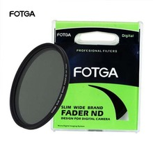 FOTGA Fader Variable Adjustable Slim Neutral Density ND Lens Filter ND2 to ND400 43/46/52/55/58/62/67/72/77/82/86mm for Nikon
