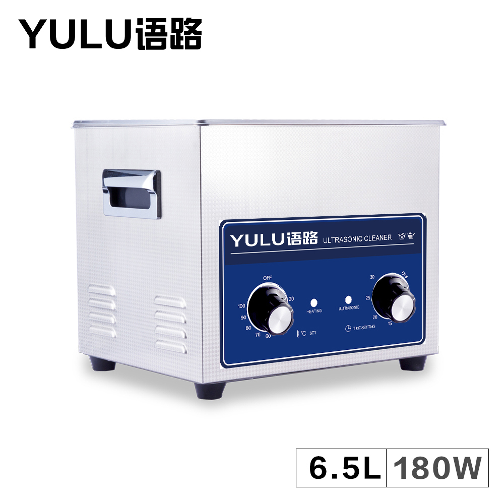 Ultrasonic Cleaning Machine Bath 6.5L Tank Circuit Board Mold Car Engine Parts Metal Degreaser Lab Washing Equipment Heater Time