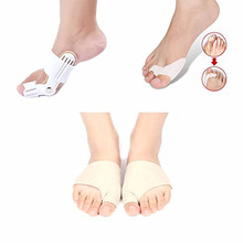 3pair Hallux Valgus Toe Corrector Bunion Splint Toe Straightener Silocom Feet Care Big Bone Toe Pain Relief Orthotics