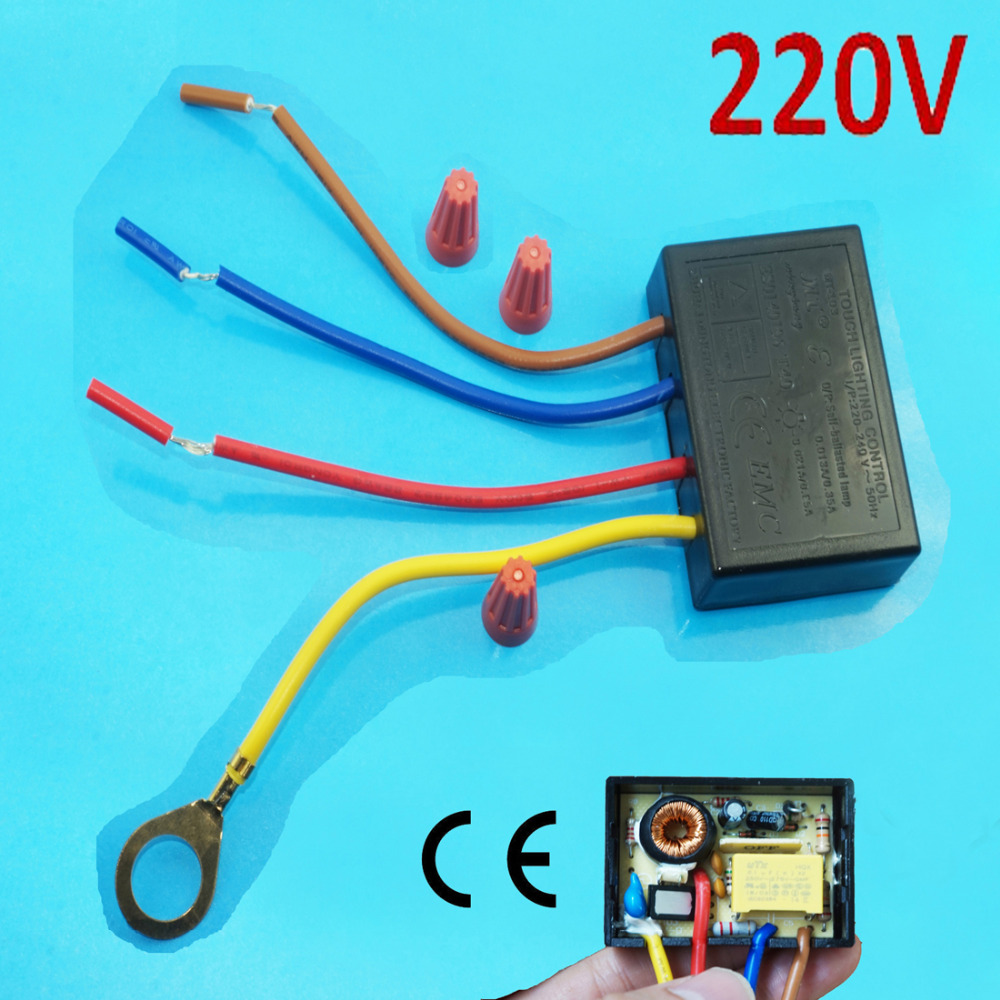 Touche de contrôle de l/'éclairage MT-1001 120 V 150 W 60 Hz Gradateur Halogène Tungstène Lumière DEL
