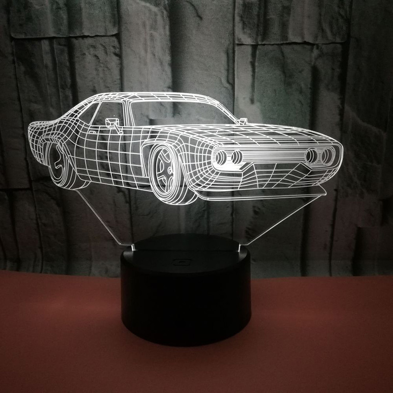 Creative 3D Night Light Supper Car Ferrari Table Lamp 7 Colors Changing Desk Lamp 3d Lamp Novelty Led Night Lights sitting roomCreative 3D Night Light Supper Car Ferrari Table Lamp 7 Colors Changing Desk Lamp 3d Lamp Novelty Led Night Lights sitting room