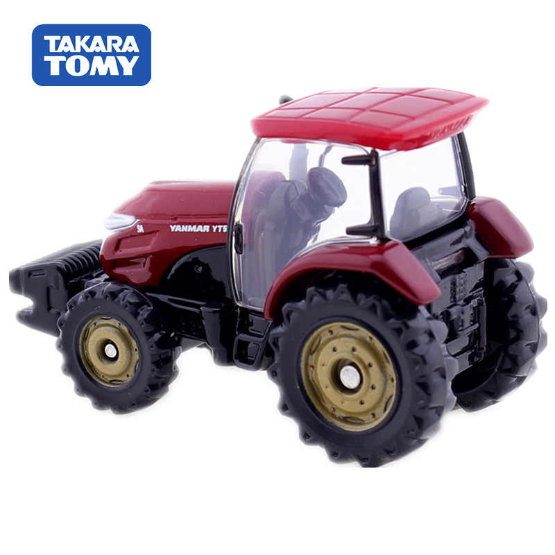 Tomica Yanmar Tractor YT5113 Skala Takara Tomy Tampilan Miniatur Diecast Logam Mobil Mainan Mobil Model Mainan Koleksi