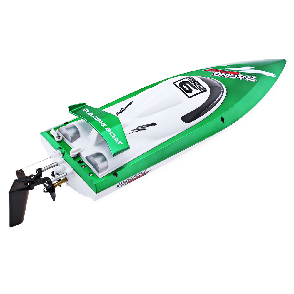 Remote Ship 2.4G 30KM/H RC Racing Boat High Speed Yacht Model Boat Sailing Mini Plastic RC Boats Children Electric Water Toy ...