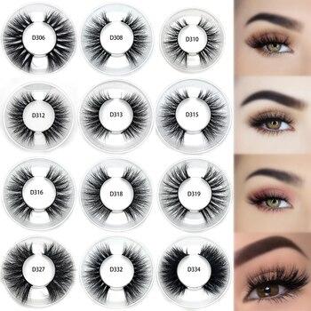 Wholesale false eyelashes  good quality 3D mink eyelashes private label 3D mink lashes good quality wholesale