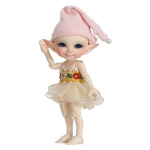 Image 5 - Free Shipping Fairyland FL Realpuki Pupu Doll BJD 1/13 Pink Smile Elves Toys