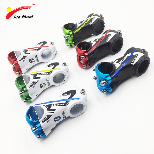 Aluminum Alloy 46 55mm Height Bicycle Stem Mountain Mtb Road Bike
