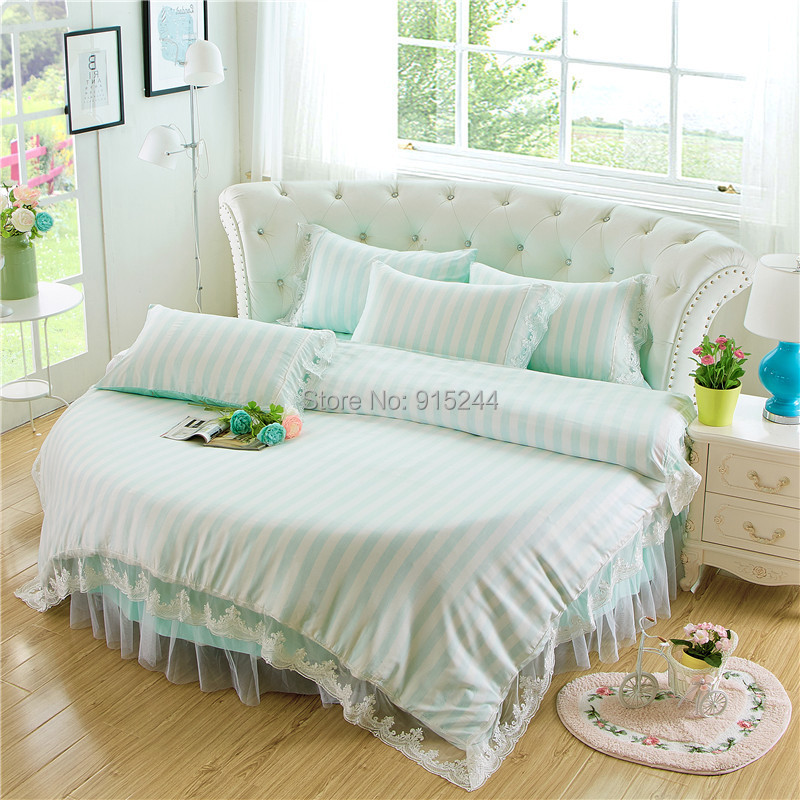popular round bed set buy cheap round bed set lots from china round bed set suppliers on. Black Bedroom Furniture Sets. Home Design Ideas