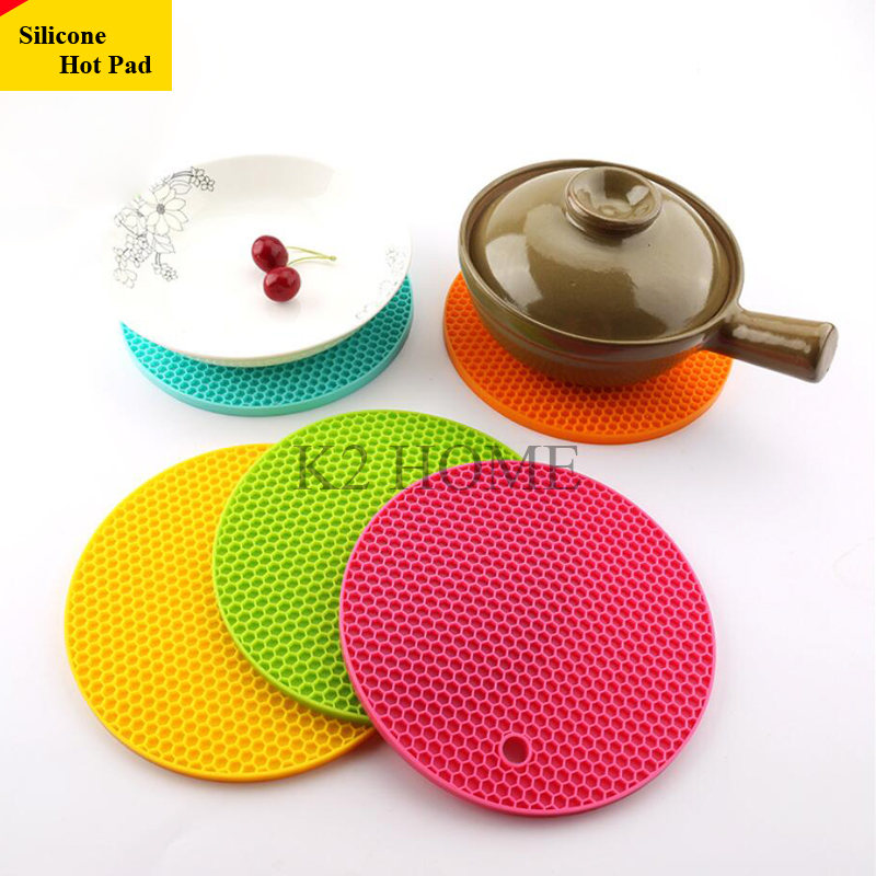 Kitchen Silica Hot Pad Trivet Coaster Heat Resistant Insulated Pads Trivets  Mat Multipurpose Silicone Holder Potholder In Mats U0026 Pads From Home U0026  Garden On ...
