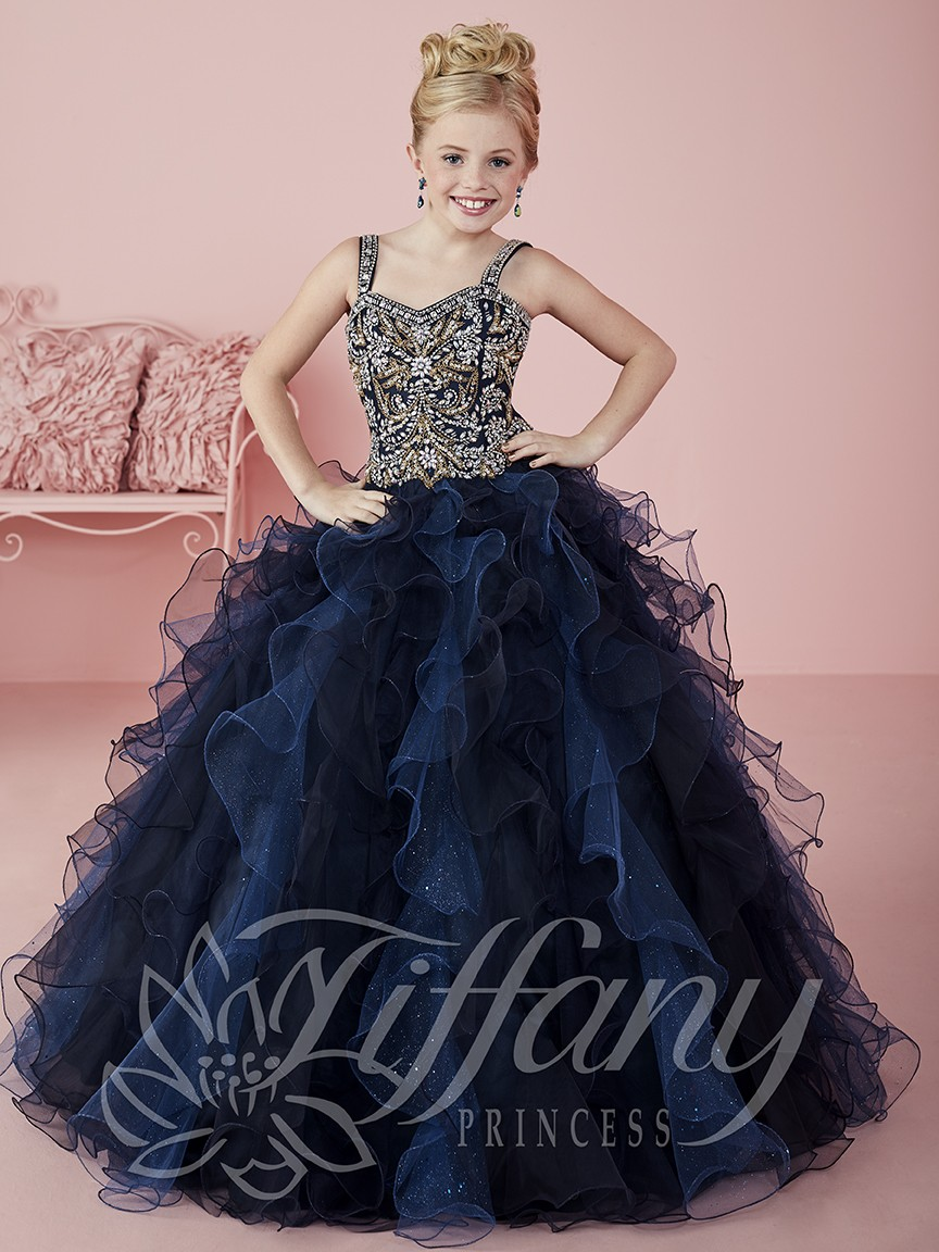 fd3ff7a93b6 Floor Length Ball Gown Flower Girl Dresses | Saddha