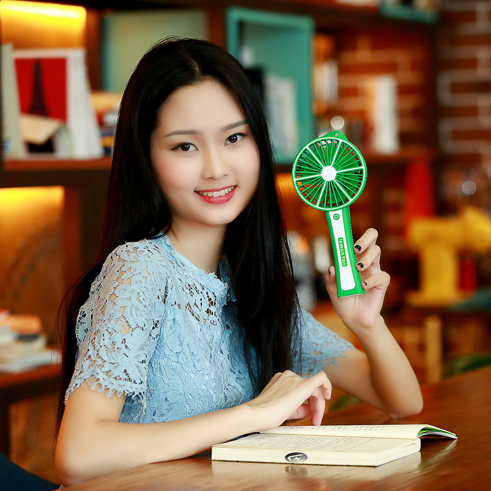 Home Appliances Painstaking Portable Mini Usb Fan Lemon Beautiful Colors Usb Handhold Fan For Office/home/outdoor Inner Battery Cooling Ventilator