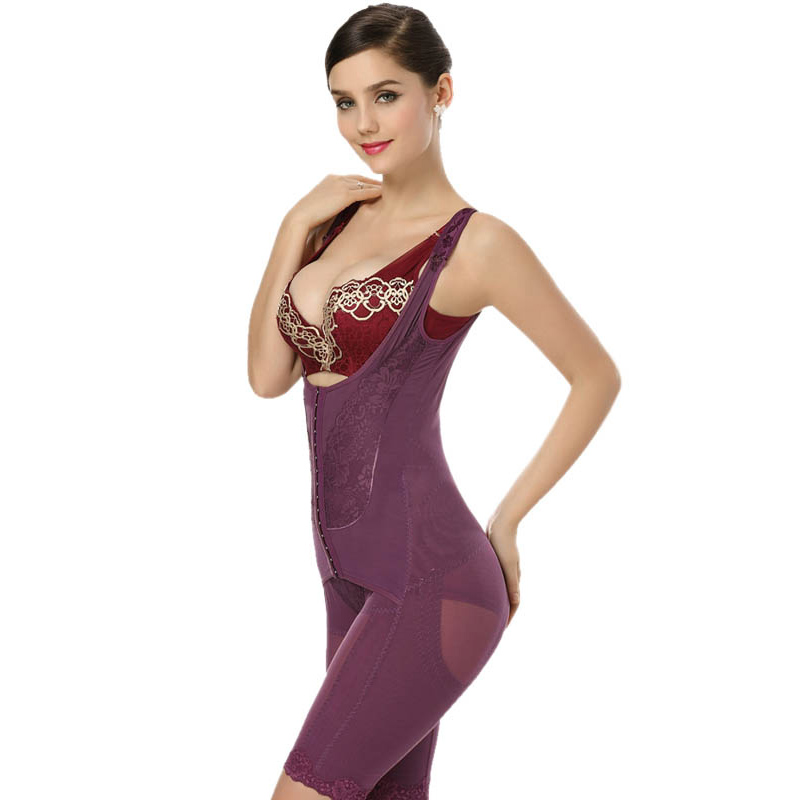 694bf4ef4e Plus Size UltraSlim Corset Underbust Magnetic Therapy Full Body Shapewear  Sexy Slimming Tummy Control Corrective Underwear M 4XL-in Bodysuits from  Underwear ...