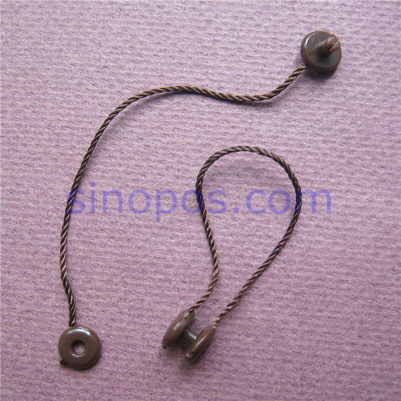 Short Tag String 10cm With Button Clip Jewelry