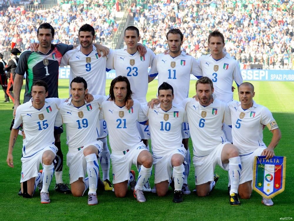 on sale b5ae9 75b98 Italy National Team Football Sport Art Huge Print Poster ...