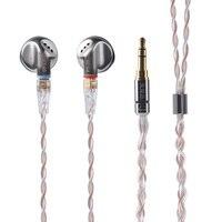 AK SENFER PT25 In Ear Earphone Earburd Graphene Dynamic Driver Unit HIFI Earplug With MMCX Detachable Detach Cable Metal Earbud