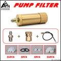 4500 pz di Alta pressione PCP pompa a mano aria filtro Olio-acqua Separatore con tubo Femmina e connettore Maschio pcp serbatoio d'aria M10 * 1 un set