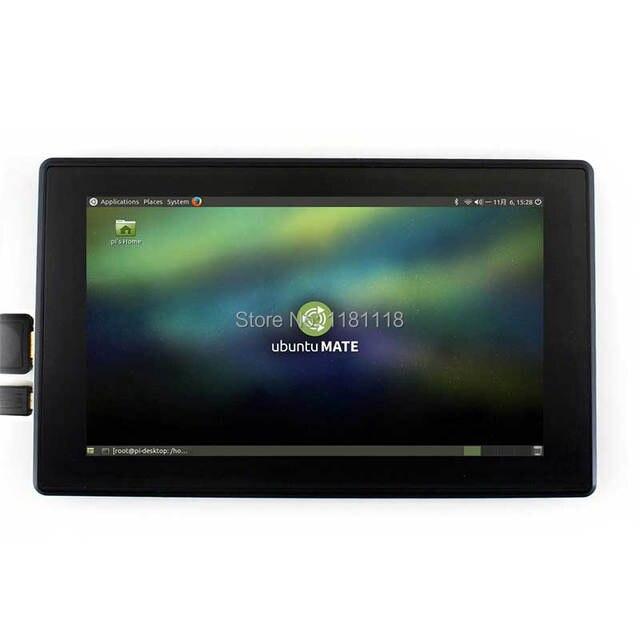 Raspberry Pi 7 Inch Lcd 7 Inch Usb Capacitieve Touchscreen Hdmi Vga Display Voor Computer Mini Pc Verstelbare 480x320-1920x1080