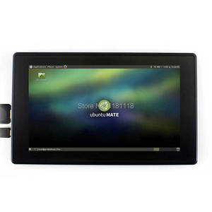 Image 5 - Raspberry Pi 7inch LCD 7 inch USB Capacitive Touch screen HDMI VGA display for computer mini PC adjustable 480x320 1920x1080