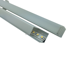 20 X 1M Sets/Lot V shape led strip aluminum channel and 45 degree beam angle aluminum led profile for wall corner led lamps