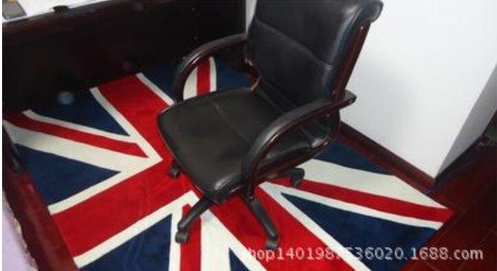 ... British Style Union Jack British Flag Bedroom Area Rug, Living Room  Coffee Table Floor Mats ...