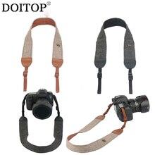DOITOP Универсальный DSLR Камера s плечевой ремень Винтаж ремень для камеры для Sony Nikon Canon и т. д. SLR Камера s заменить на A3