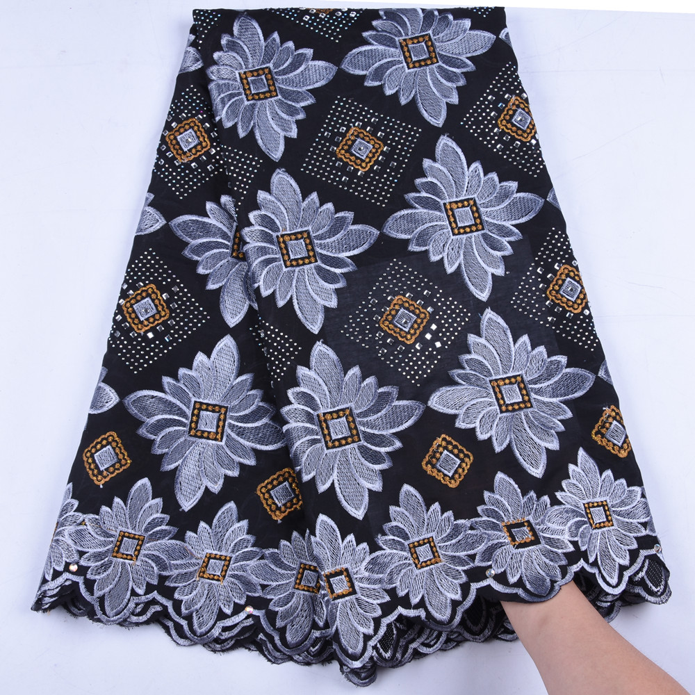 African Cotton Swiss Voile Lace In Switzerland New Arrival Voile Lace 100 Cotton Nigerian Lace Fabrics