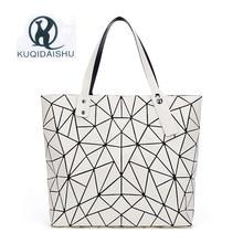 цены Hot Sale Bao Bag Folding Fashion Shoulder Handbags Mirror Geometry Women Tote Top Handle Bag Casual Lady Messenger Bags