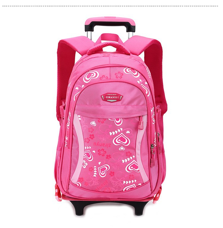 Rolling school backpacks girls and boys trolley bags school bag wheels  backpack schoolbag teenage girl bookbag mochila bolsosUSD 59.98-67.98 piece 854e6a6299b48
