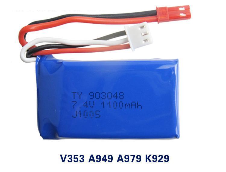 YUKALA Haute Qualité 7.4 V 1100 mAh D'origine A949 A959 A969 A979 K929 Batterie Livraison Gratuite