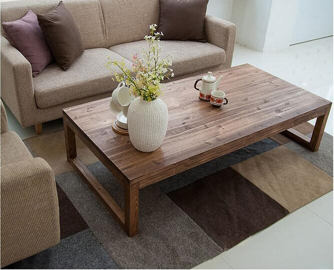 Superieur Antique Rustic Vintage Pine Coffee Center Table Wooden Living Room  Furniture Tea Table Rectangle Industrial Cocktail Table Wood In Coffee  Tables From ...