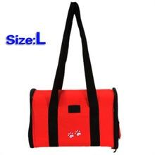 KSOL L Pet Dog Cat Portable Travel Carrier Tote Bag Crates – Big Red