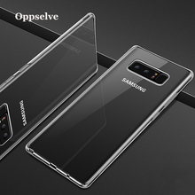 Oppselve Soft Silicone Case For Samsung Note 9 8 S10 S9 S8 Plus Coque Transparent TPU Back Cover Galaxy S10e Funda