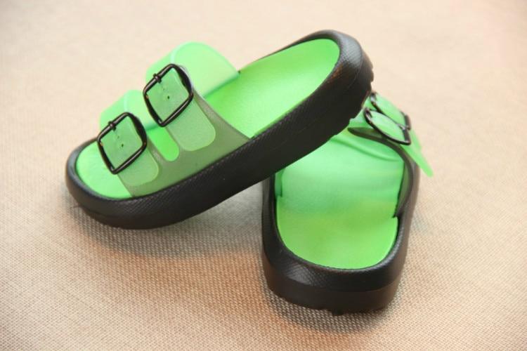 Slippers Kids for Girls Beach Sandals Summer Baby Slippers Boys Flat House Flip Flop Children Non-slip Korea Home Casual Shoes 11