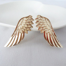 Sale 1 Pair Women Fashion Angel Wings Brooch Collar Pin Brooches Gothic Christmas Ornaments Accessories Gift