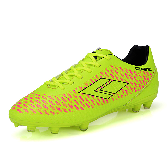 21c1da9ba37cf Zapatos De Futbol originales De marca hombres mujeres botines De fútbol  durable De entrenamiento botas De