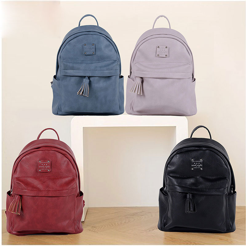 vintage casual small pu leather ladies travel bags waterproof font b kids b font girls fashion